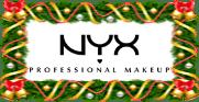Новогодняя акция в магазине NYX Professional Makeup